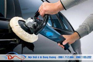 Dịch vụ đánh bóng nội thất ô tô chuyên nghiệp tại Dũng Vương